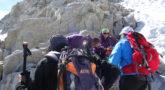 Montañeros al Aneto