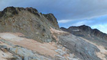 Aspecto del glaciar del Aneto el 5/8/2017. Cía Guías Benasque